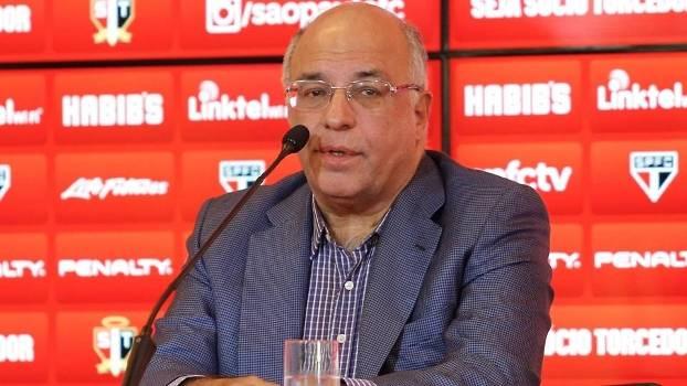 Exonerado por Aidar, Ataíde Gil Guerreiro volta a ser vice-presidente do São Paulo