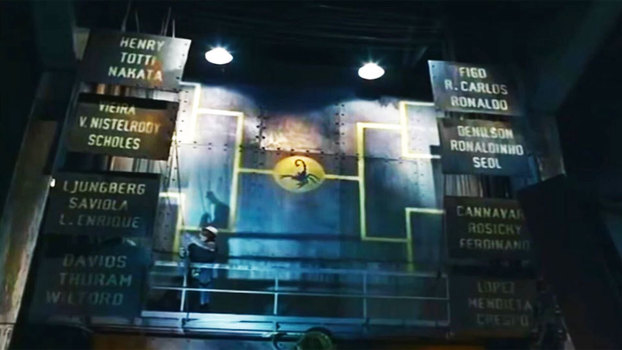 Os participantes do Nike Cage Tournament, famoso comercial de 2002