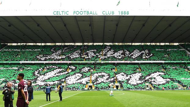 Torcida do Celtic ficou marcada nesta temporada pela homenagem aos  Leões  de Lisboa  4e1bc858b801f