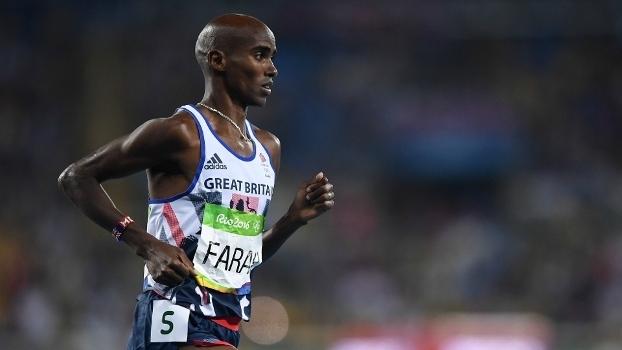 Mo Farah durante prova dos 5000m no Rio de Janeiro 0d5fb7f818658