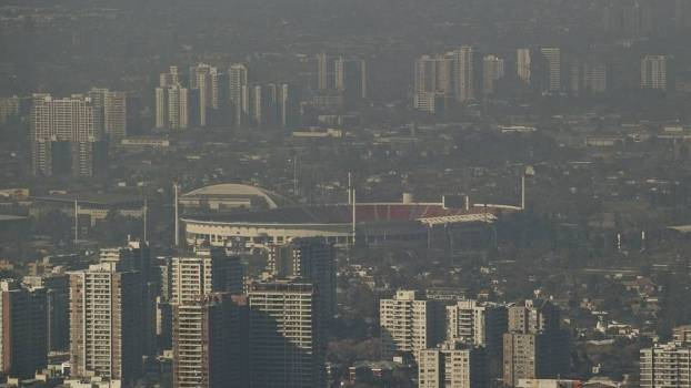 Estadio Nacional Santiago Chile Copa America Poluição 05/06/2015