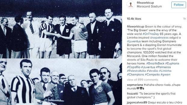 Fifa exalta título do Palmeiras em 1951   O primeiro campeão global ... c4a0a90762b91