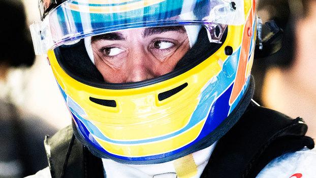 Fernando Alonso durante o fim de semana do GP da Itália
