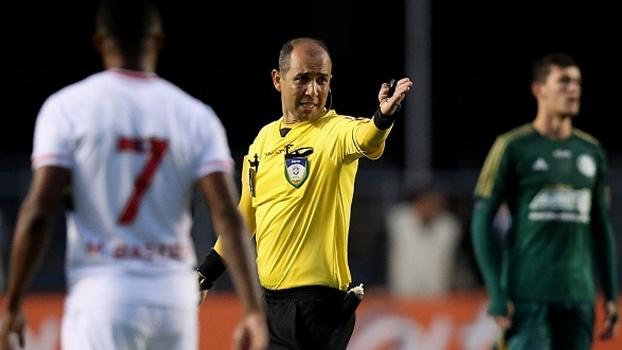Marcelo Aparecido de Souza será o árbitro de Corinthians e Botafogo-SP