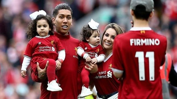 Roberto Firmino vai trocar a camisa 11 pela 9 do Liverpool na próxima temporada