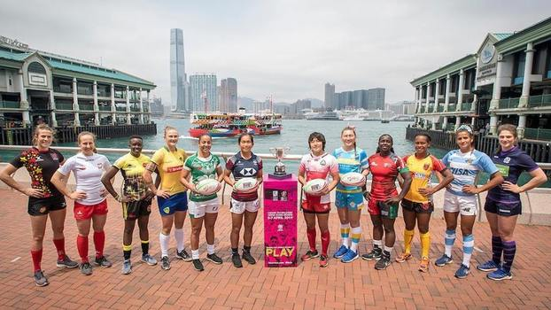 Participantes do Hong Kong Sevens 2019