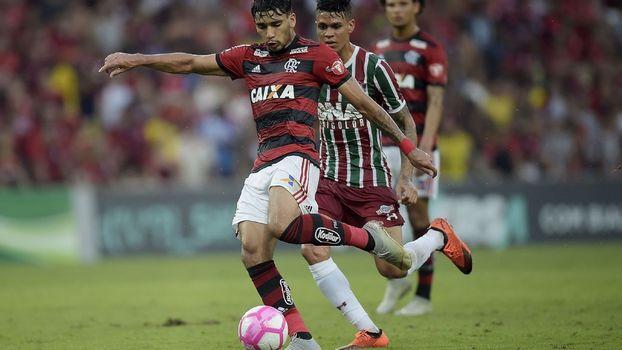 Lucas Paquetá deixou o Flamengo a caminho do Milan-ITA 06962e357fe4b