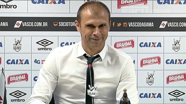 Confira a escalação oficial do Vasco para enfrentar o Palmeiras
