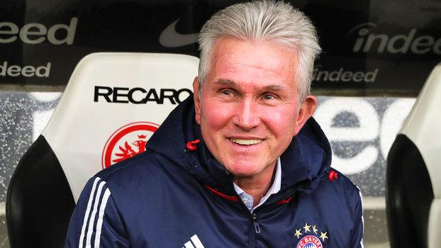 Jupp Heynckes e seu Bayern venceram mais uma na Bundesliga