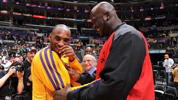 Após encontro e risadas com Shaq, Kobe diz: 'Nos damos bem ...