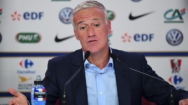 Didier Deschamps anunciou a convocação da França nesta quinta-feira ... 598fec201b9f3