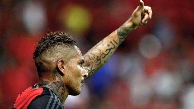 Guerrero teve boa atuação e deixou a sua marca no clássico