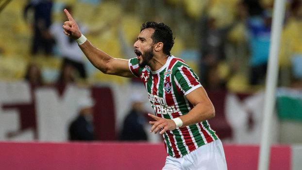 Dourado marcou os dois gols do Flu contra o Atlético-MG