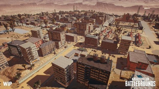 Novo mapa deserto revelado durante a Gamescom