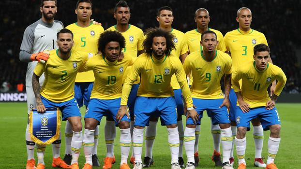 df59e4c68a Seleção brasileira que enfrentou a Alemanha pela primeira vez depois do 7x1