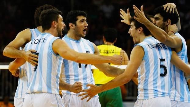 Vôlei argentino estará nas Olimpíadas