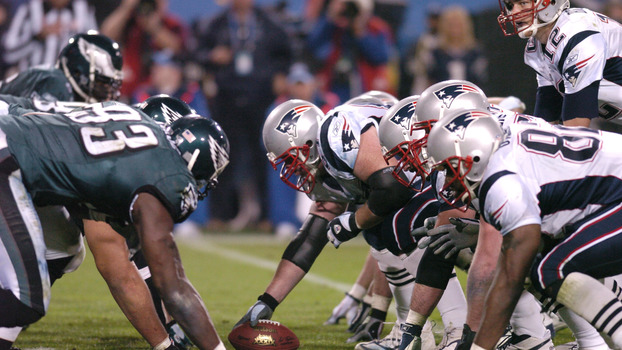 Eagles e Patriots se enfrentaram no Super Bowl XXXIX