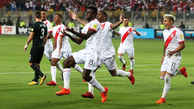 Peru está classificado para a Copa do Mundo