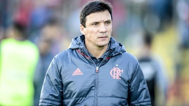 Zé Ricardo está no segundo lugar do Brasileiro com o Flamengo