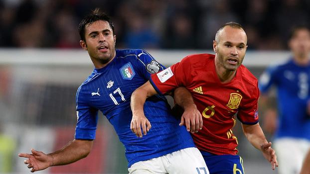 Espanha atropela a Itália por 3 a 0 no Santiago Bernabéu