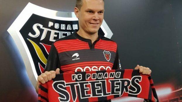 Alemão foi reforço do Pohang Steelers a553ed886db99