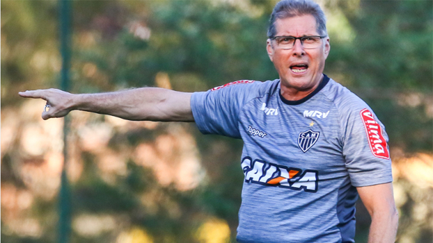 Atlético-MG já treinou nesta quinta-feira