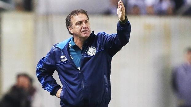 Cuca viu o Palmeiras vencer neste domingo