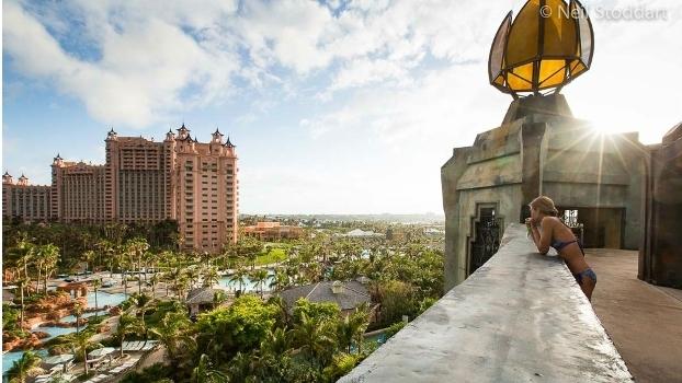 Hotel nas Bahamas é um dos mais procurados por turistas no mundo