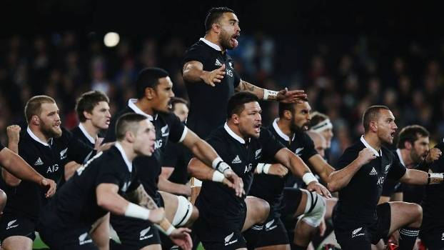 A haka maori e os All Blacks