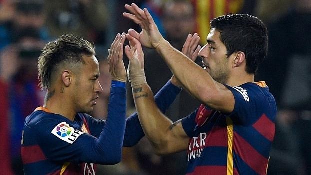 Suárez foi quem mais marcou, e Neymar que mais passou na série invicta do Barça