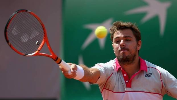 Wawrinka estrou com vitória em Roland Garros