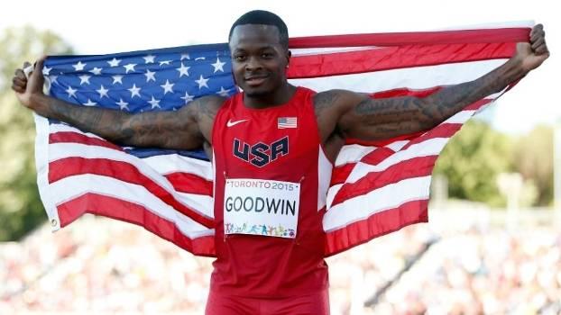 Marquise Goodwin conquistou a medalha de prata  no salto em distância do Pan