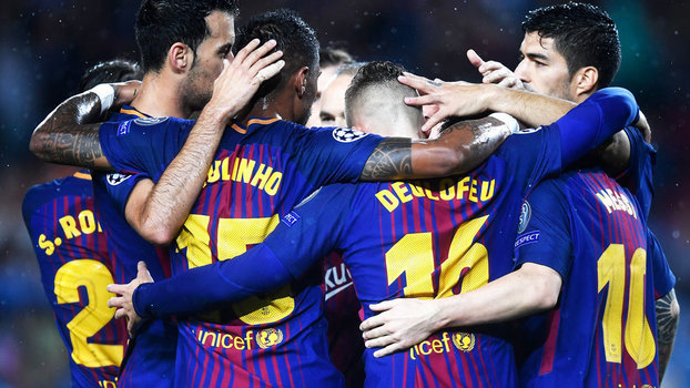 Barcelona segue na liderança do grupo D da Champions League
