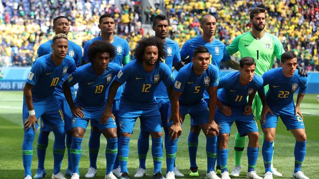 cae377cecd O Brasil terá a mesma escalação contra a Sérvia