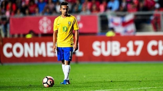 Alan Guimarães Alanzinho Brasil Chile Sul-Americano Sub-17 19/03/2017
