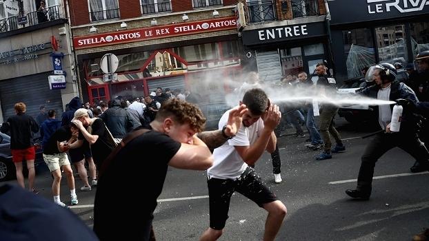 Torcida Russia Briga Lille 15/06/2016