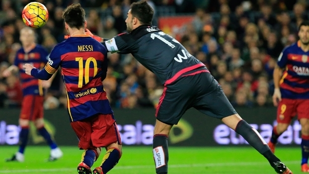 Messi pênalti Campeonato Espanhol