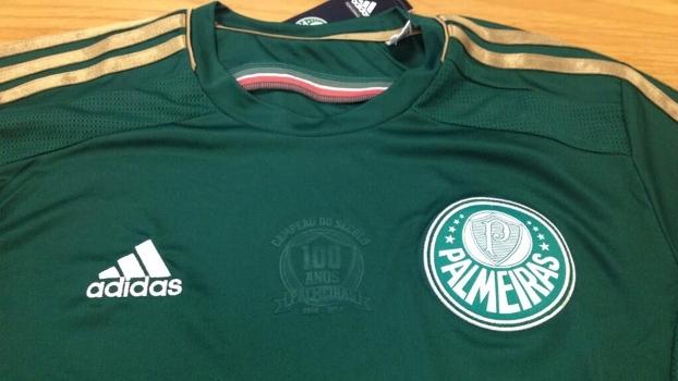 c4bf27dc4f Camisa do Palmeiras no centenário