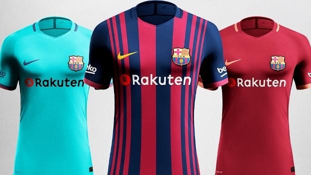 Barcelona Novas Camisas Adidas 19/05/2017
