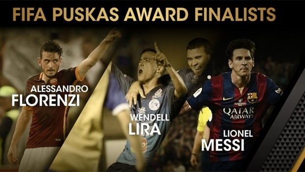 d728329983 Brasileiro Wendell Lira concorrerá ao prêmio Puskas da Fifa com Florenzi ...