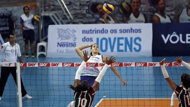 Osasco venceu o Fluminense pela Superliga feminina