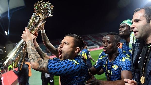 Moreirense Comemora Trofeu Taça da Liga Portugal 29/01/2017