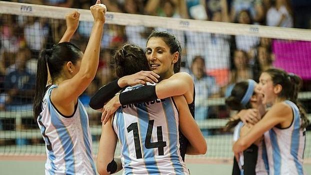 No vôlei feminino, a Argentina disputará pela primeira vez os Jogos Olímpicos