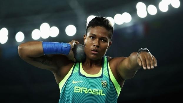 Geisa Arcanjo, durante as Olimpíadas