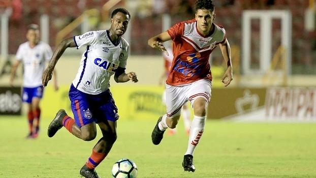 Bahia e Sergipe se enfrentaram pela Copa do Brasil em 2017