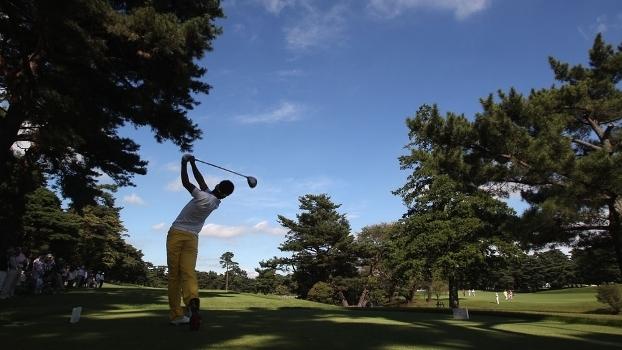 Campo de Kawagoe, palco do golfe nos Jogos Olímpicos de Tóquio em 2020