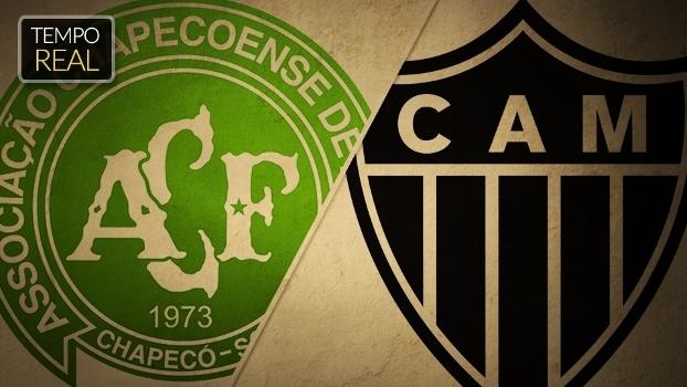 Siga aqui, EM TEMPO REAL, Chapecoense x Atlético-MG