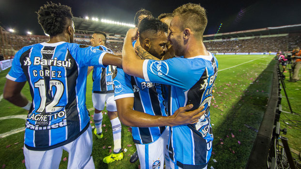 Grêmio venceu o Lanús mais uma vez e conquistou a Libertadores