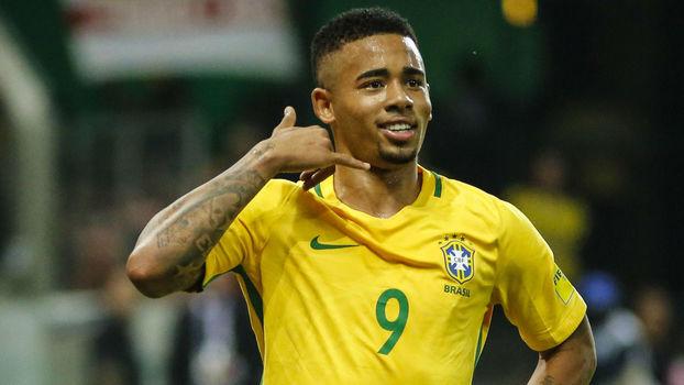 Gabriel Jesus marcou o segundo gol do Brasil contra o Chile