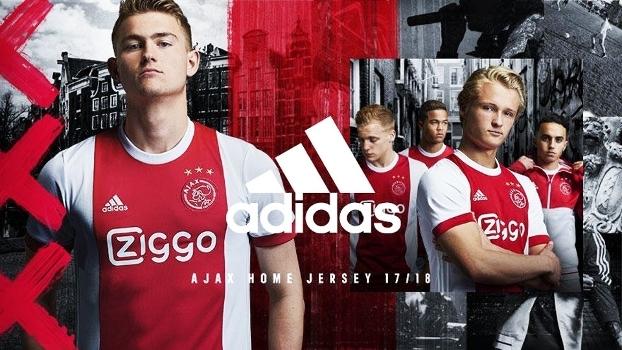 Ajax Nova Camisa 1 Adidas 22 05 2017 e29db24c7246a